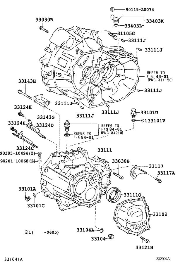Fred Anderson Toyota Raleigh Nc >> Toyota Camry Case sub-assembly, manual transmission ...