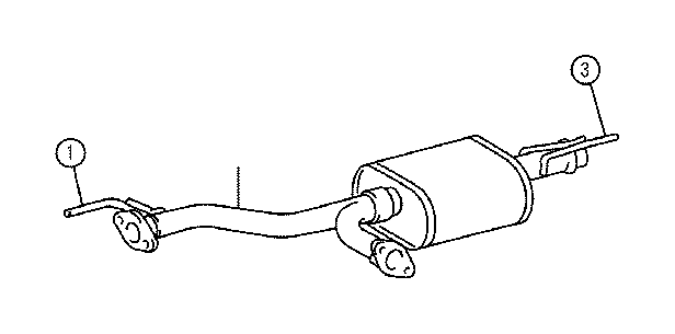 Toyota Tundra Exhaust Pipe  Pipe  Exhaust  Center